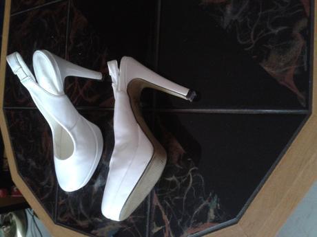 svatební boty s plnou špičkou, 36