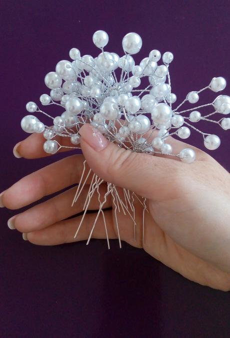Pinetky s perličkami 10ks,