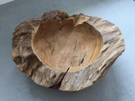 Dekorační dřevěná mísa,