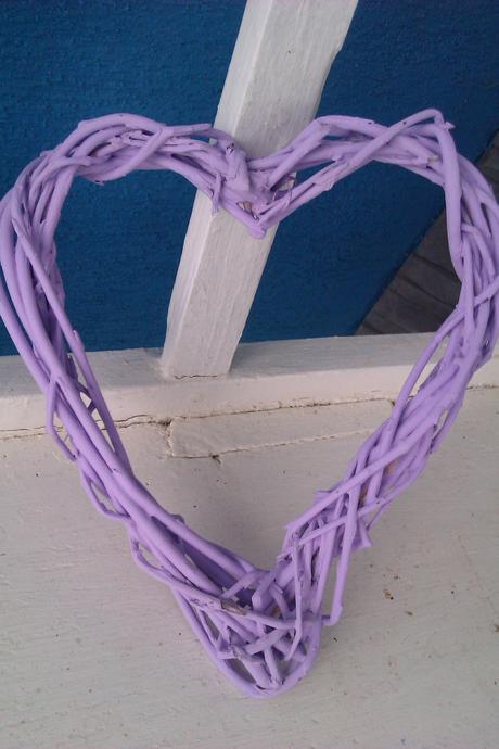 Prútené srdcia- handmade,