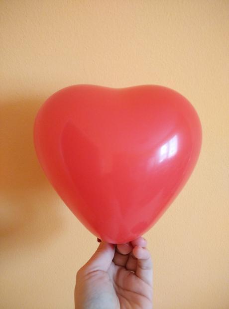 balonky malé srdce,