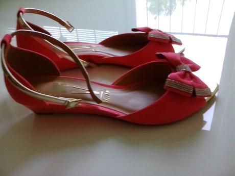 Letne sandálky vhodné pre nevestu alebo druzicku, 41