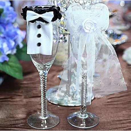 oblek na svadobné poháre,