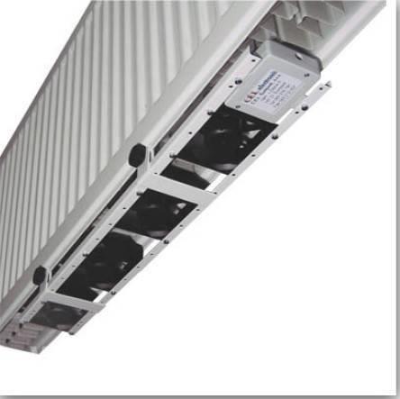 Ventilátor pod radiátor Termík,