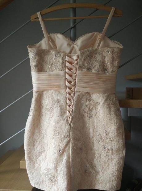 luxusní koktejlové korzetové šaty v. 40/42, 42