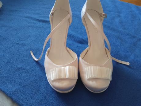Svadobné topánky butdam, 38