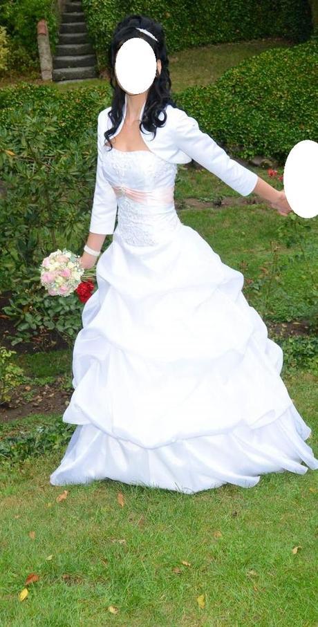 svatební princeznovské korzetové šaty vel. 38-40, 38