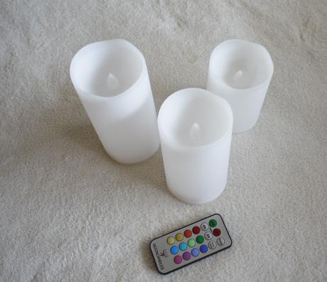 sviečky led ,