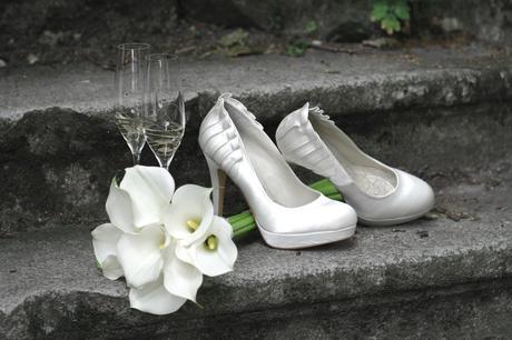 Svadobné lodičky na platforme - Next , 39