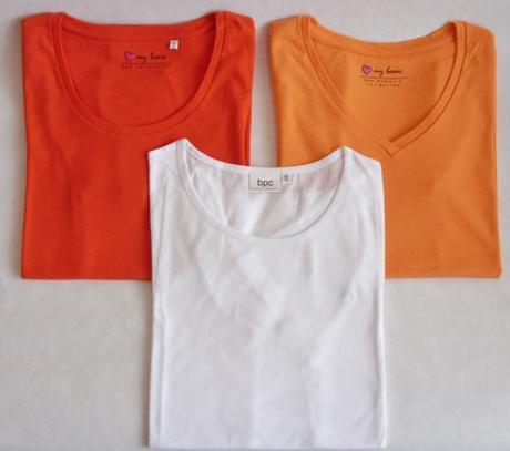 Dámske bavlnené tričká set       nenosené, 40
