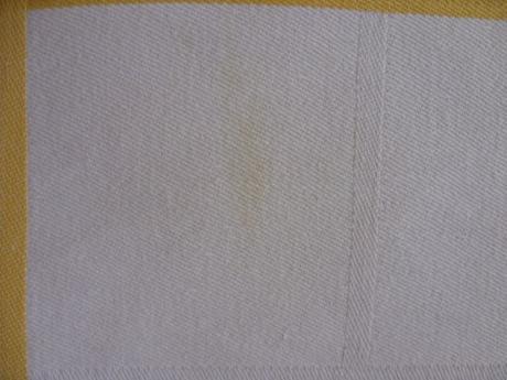 Obrus hnedo biely  ,