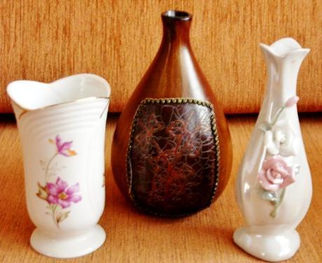 Vázy   nepoužívané,