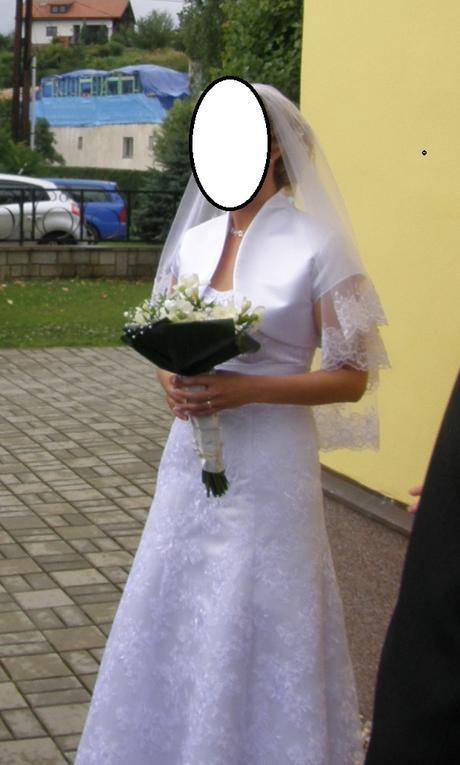 Svadobné šaty čipkované, 40