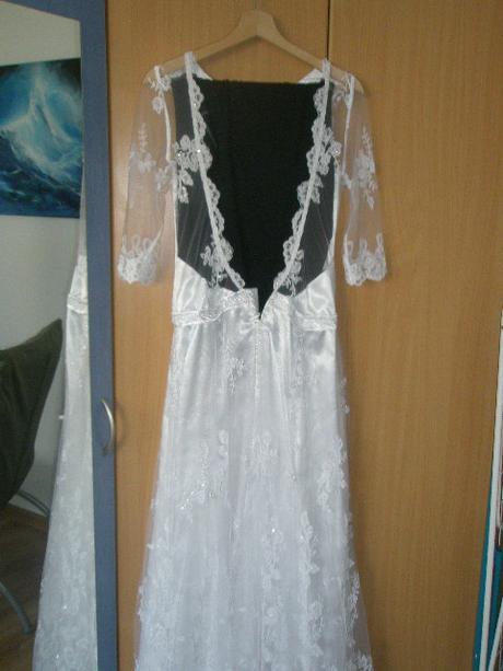 čipkovane svadobne šaty, 36