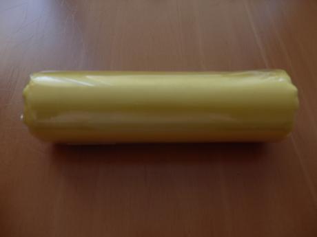 Organza - satén 0,15x9m - žlutá,