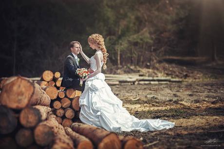 Luxusné svadobné šaty z kolekcie San Patrick , 36