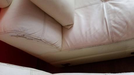 Kožená sedací souprava,