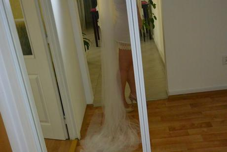 3m dvouvrstvý svatební závoj,