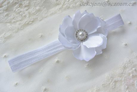 Krajkový svatební podvazek S-XXXL, L