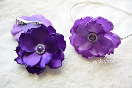 Květinový náramek- různé barvy,