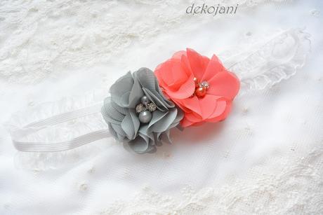 Květinový podvazek- na míru, L