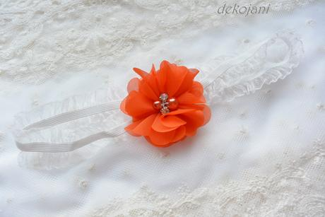 Květinový podvazek- na míru, M