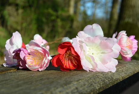 Květinový věneček / čelenka,