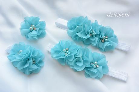 Květiny na čelence dle výběru,