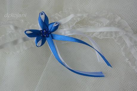 Modrý vývazek velký,
