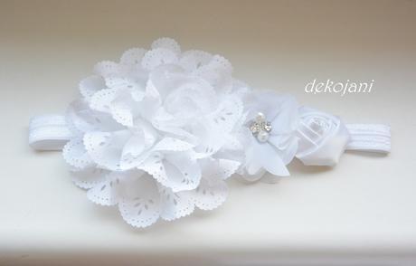 Svatební čelenka pro družičku,