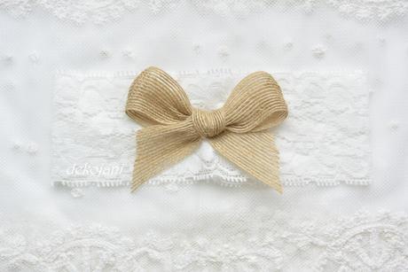 Svatební krajkové vývazky,