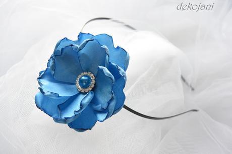 Svatební polštářek mint blue,