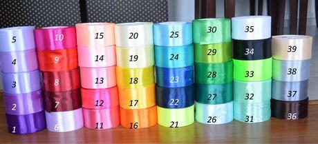 Vývazky- barva na přání,