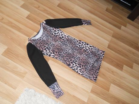tigrovane šaty , S