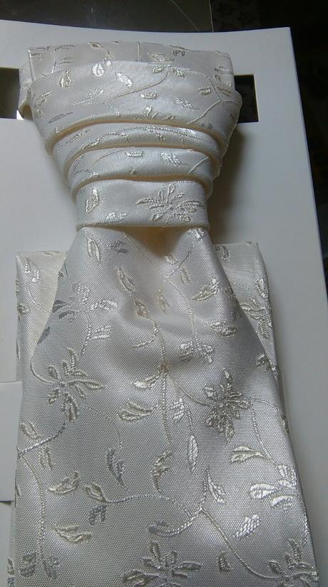 Pánska svadobná kravata ,