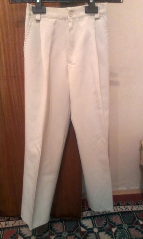 Chlapčenské spoločenské nohavice, 140