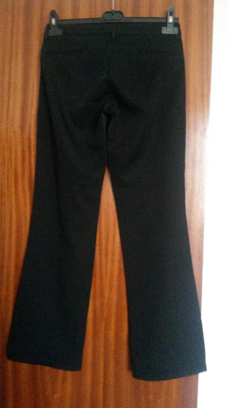 Čierne tenšie nohavice, XS