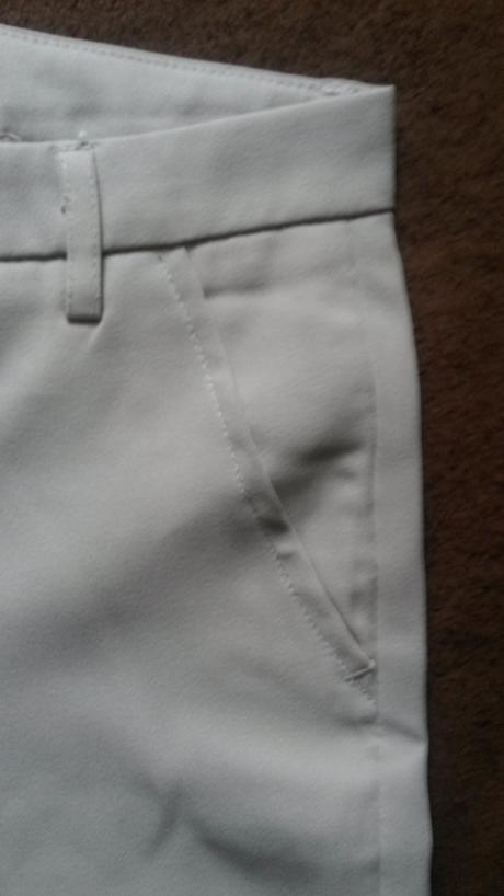 Krémové nohavice, XS