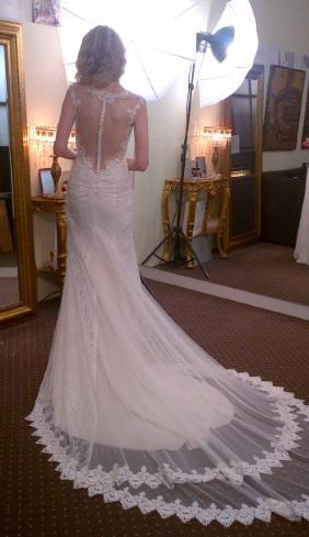Luxusní jedinečné svatební šaty, 34