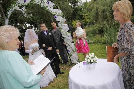 Výroba svatební dekorace,