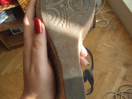 Sandále, 40
