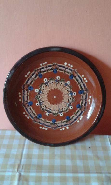 Hlinený tanier,