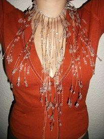 Luxusný náhrdelník pre nevestičku,