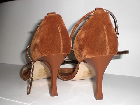 Medené sandálky, 36