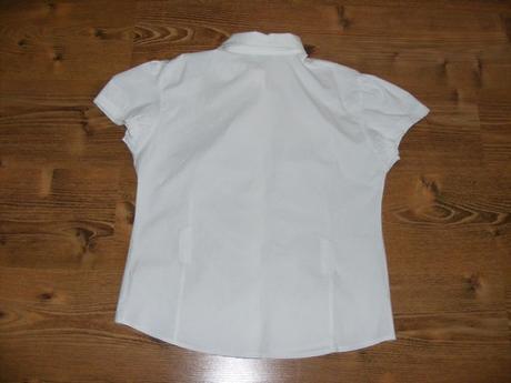 Biela blúzka, málo nosená, 44