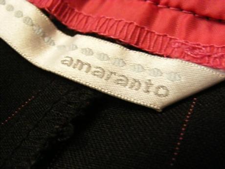 Čierne nohavice kostýmové,málo nosené, M