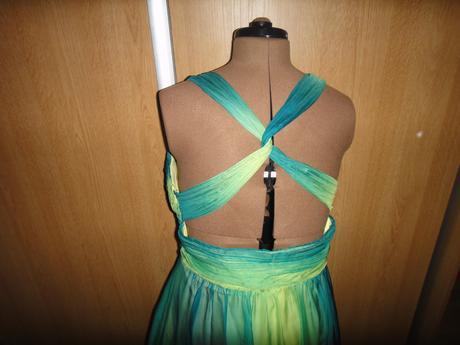 Zelené šaty dlhé, XXL