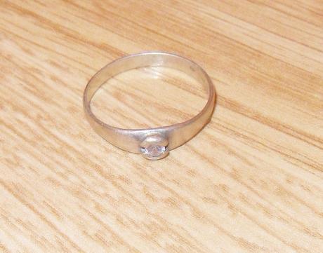 Strieborný prsten,