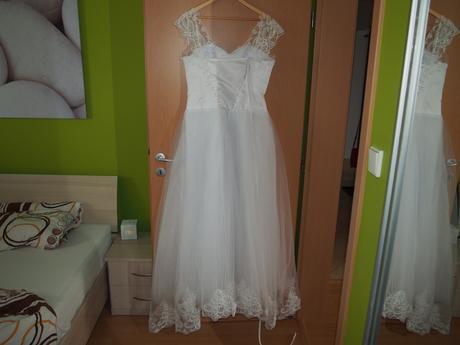 Svadobné šaty od natasha azaiy , 40