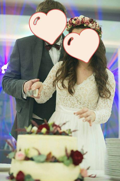 Svadobné šaty s dlhým rukávom, 36